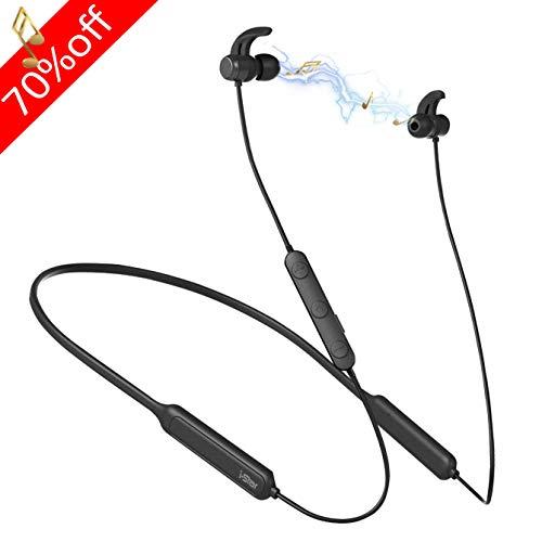 Wireless Earbuds, in Ear Headphones with Charging Case, Bluetooth 5.0 Earphones with Microphone Binaural Calls, IPX5 Waterproof for Sport (Standard Wireless Earbuds) (Best Sports Headphones Uk)