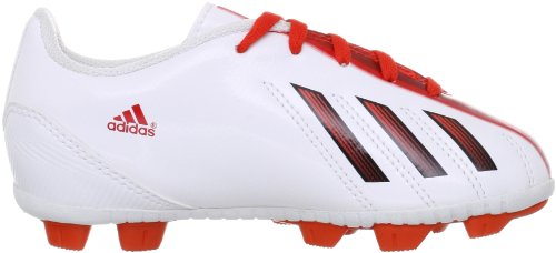 Adidas F5 TRX HG J Kinder Fussballschuhe running white-dark orange-black - 38