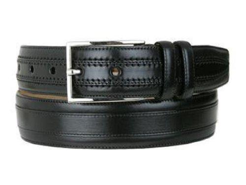 [Mezlan Men's Belts Men's Hundley II Rama Belt, black, B360] (Mezlan Black Belt)