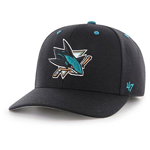 '47 Brand Gorra Ajustable - Audible San Jose Sharks Negro