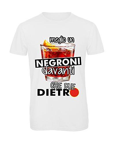 T-shirt Meglio un Negroni davanti che due dietro