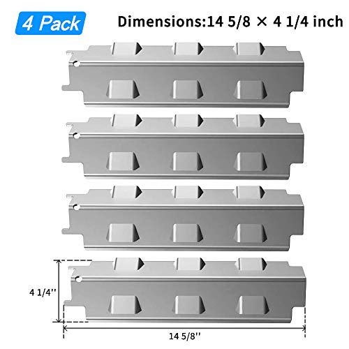 14 5//8/'/' Grill Heat Tent Plate Shield for Charbroil Gas BBQ Replacement Parts