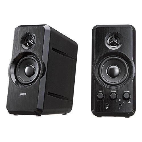 Sanwa Supply Mm-spl6bk Multimedia Speakers [ Japan Imports ] by Sanwa