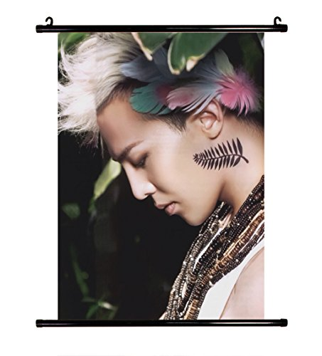 Fanstown G-Dragon GD Wall Scroll Cloth Poster with, used for sale  Delivered anywhere in USA