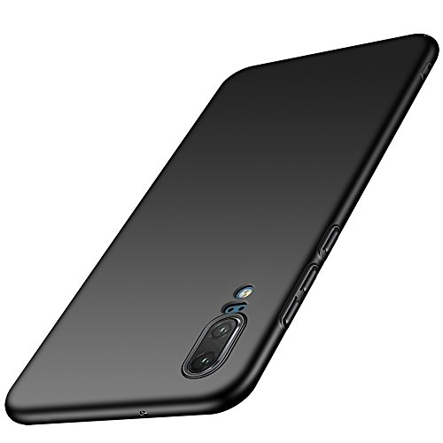 Anccer Huawei P20 Case [Colorful Series] [Ultra-Thin] [Anti-Drop] Premium Material Slim Full Protection Cover for Huawei P20 2018 (Black)