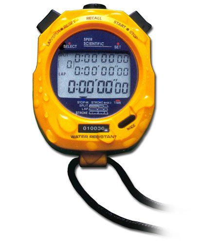 Sper Scientific Water Resistant Stopwatch