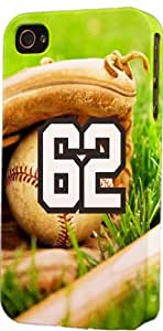 iphone covers Baseball Sports Fan Player Number 62 Plastic Snap On Flexible Decorative Apple Iphone 5c Case