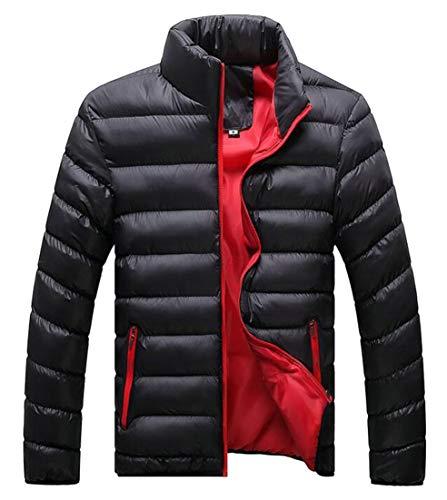 Down Thicken Quilted Warm Collar Jacket Zipper Padded Stand EKU Men's Winter 2 Zz0aInq1xw