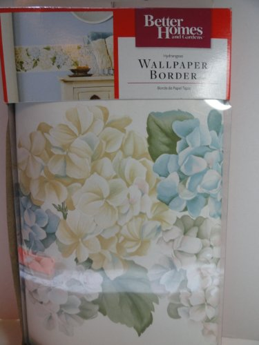 Amazon better homes and garden wallpaper border hydrangeas better homes and garden wallpaper border hydrangeas sisterspd
