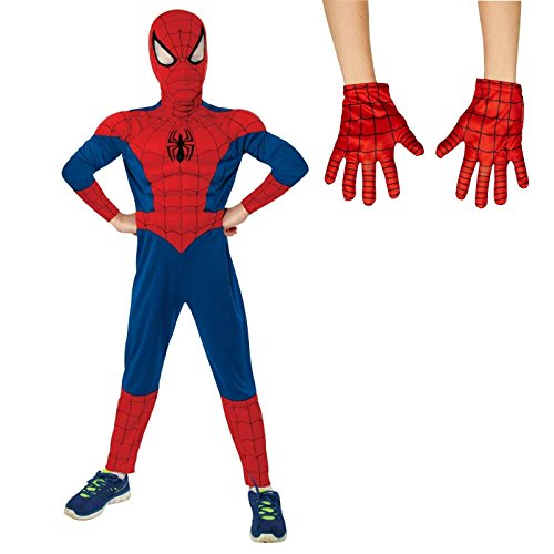 [Ultimate Spider-Man S (4/6) Costume Bundle Set] (Peter Parker Costume Ultimate Spider Man)