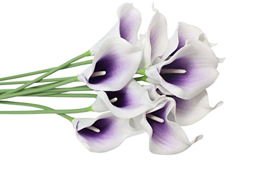 En-Ge-10-Heads-Mini-Calla-Lily-Bridal-Wedding-Bouquet-Real-Touch-Flower-Bouquets