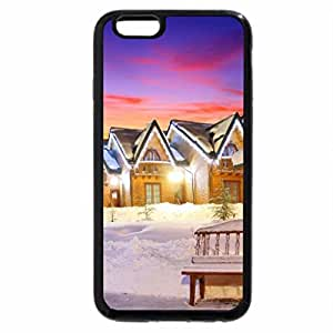 iPhone 6S Plus Case, iPhone 6 Plus Case, .Lovely Cabins Lights.