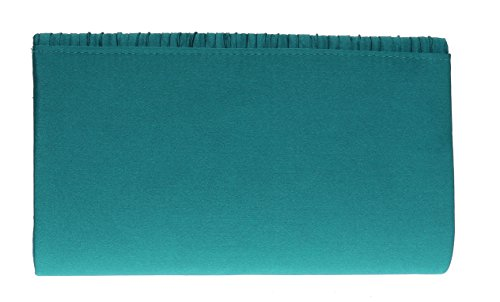 Mujer Verde Azulado Handbags Mano Girly Cartera De AXIWgq
