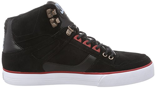 DC Shoes SPARTAN HIGH WC M - zapatillas deportivas altas de goma hombre negro - negro