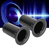 Diydeg 80mmx42.5mm Speakers Port Tube, Woofer
