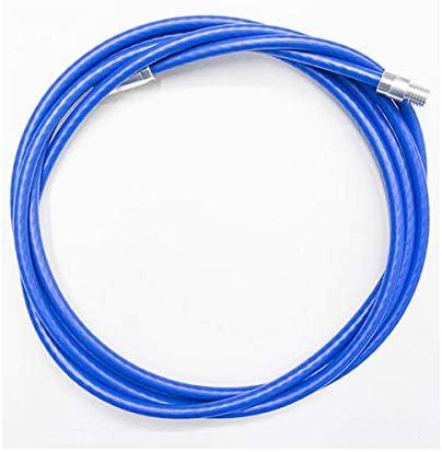 Tubo de extensión estufa kit de limpieza pellet cable de acero M12 - 3 mt. recubierto chimenea Eltex duro.