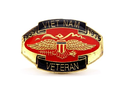 Viet Nam Veteran 1959-1975 Vietnam Lapel Hat Pin Military Marines Army PPM005 ()