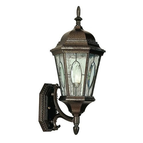 Outdoor Lighting Fixtures Stained Glass - 5