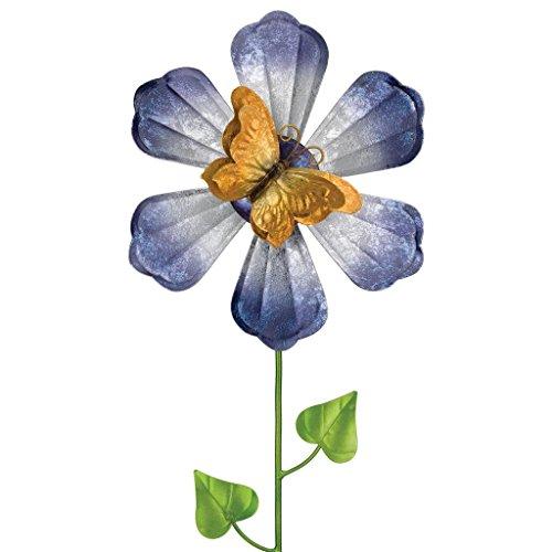 Regal Art & Gift 5478 Orange Butterfly Flower Spinner