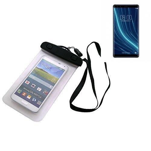 Custodia Cellulare Impermeabile Universale Pollici Waterproof Cover Case per Archos Diamond Omega. Universale Beach Bag / parapioggia / manto nevoso 16 centimetri x 10 centimetri - K-S-Trade(TM)