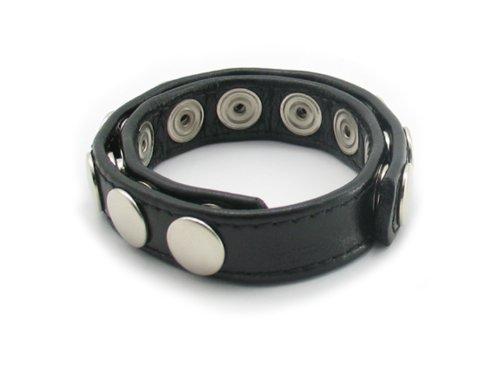 Bracelet en cuir réglable G-spot de Summersha hommes Pénis Cock Ring