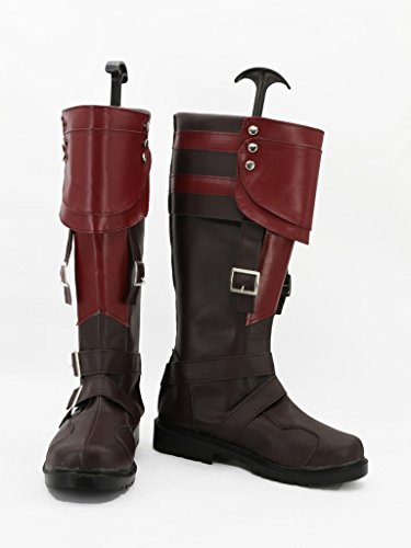 Lightning Returns: Final Fantasy Xiii Lightning Cosplay Zapatos Botas Por Encargo