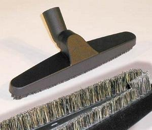 Bare Floor Brush Part - 12in Deluxe Central Vacuum Accessory Floor Brush
