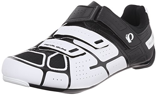 Pearl Izumi Men's Select RD IV Cycling Shoe, White/Black, 45 EU/10.8 D US