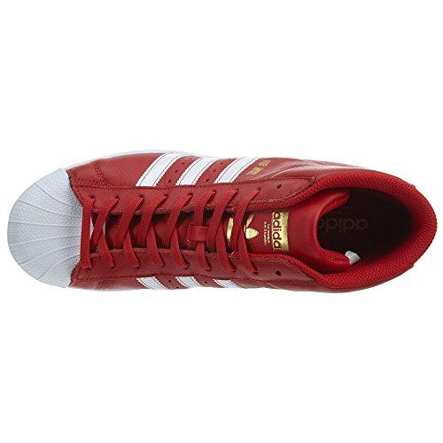 Adidas Pro Model Heren Scarle / Wit-goud Metallic