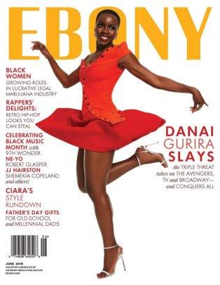 Ebony Magazine (June, 2018) Danai Gurira Cover