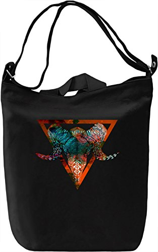 Wether Skelet Borsa Giornaliera Canvas Canvas Day Bag| 100% Premium Cotton Canvas| DTG Printing|