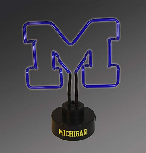 NCAA The University of Michigan Col-MH-1808Neon Lamp, Multi, One Size ()