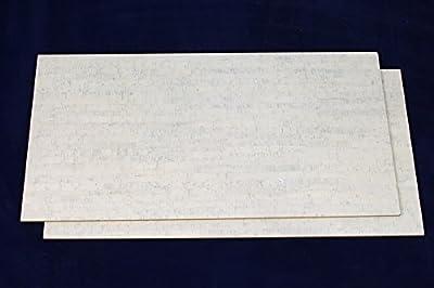 Cork Tile Flooring 6mm - Forna White Bamboo 22sq.ft/package
