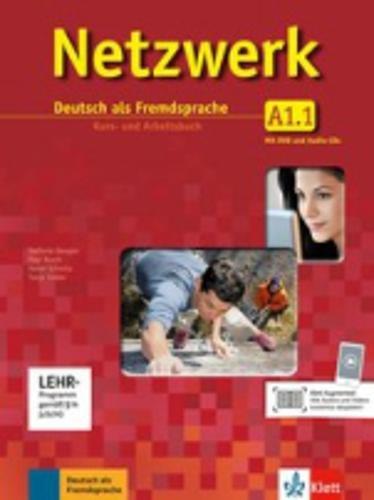 Netzwerk A1.1: Deutsch als Fremdsprache. Kurs- und Arbeitsbuch mit DVD und 2 Audio-CDs