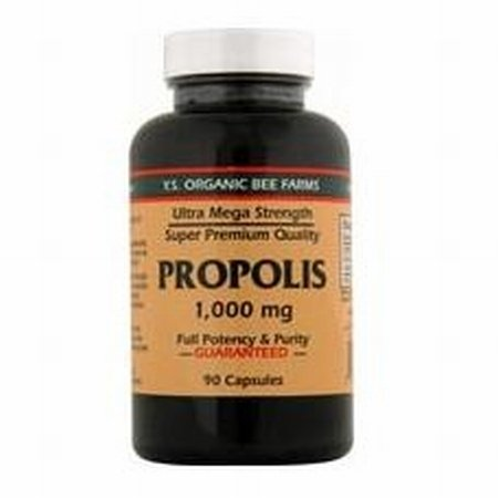 Y.S. Organic Propolis - Ultra Mega Strength - 90 caps / 1000mg