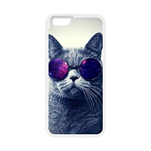 "GGMMXO Cute Cats 1 Phone Case For iPhone 6 4.7 (5.5"") [Pattern-1]"