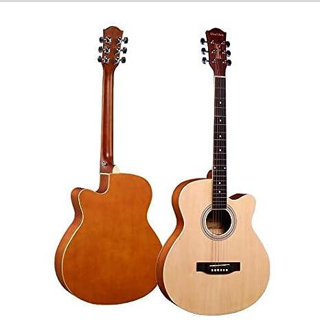 Guitarra acústica profesional Callaway Folk de 40 pulgadas, madera ...
