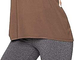 Caren Camiseta Sin Mangas con Espalda Cruzada para Mujer Camiseta De Entrenamiento Casual Camisa Deportiva Sin Mangas Yoga Running (Color : Marrón, ...