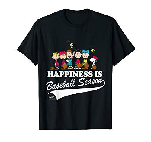 Peanuts Happiness Is Baseball Season