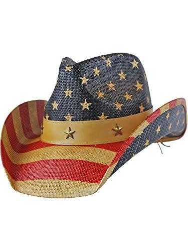 Divas Flag USA Bent Brim...