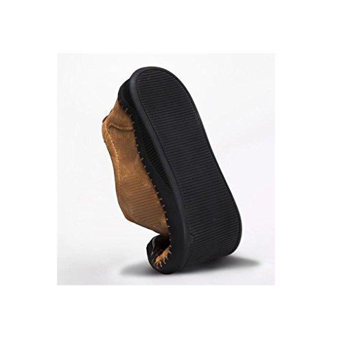 Piatto Cintura A Cotone con Uomo da con da Cerimonia con Kaki Fibbia Abiti Fondo Fibbia Morbida zmlsc Una Indossano in Indossano Punta Scarpe P1q6Pwp