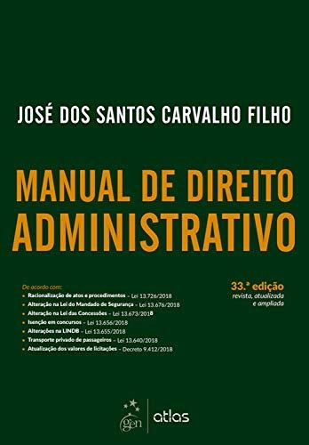 Manual Direito Administrativo Santos Carvalho ebook