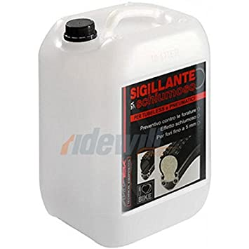 MV-TEK Sellador tubeless schiumoso 5L (líquidos sellantes)/Foaming tubeless Sealant 5L (Sealant): Amazon.es: Deportes y aire libre