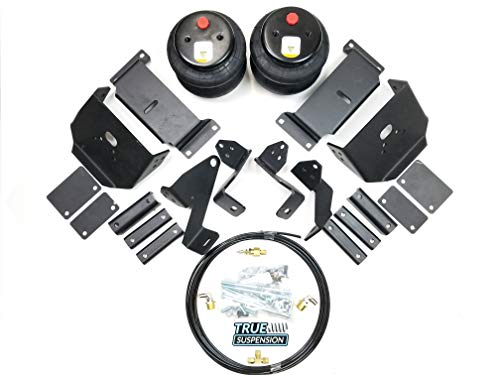 TS - Fits Ford F350 17-18 Pickup Truck Towing Assist Helper Air Ride Suspension Kit 4WD
