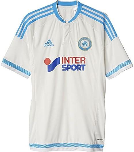 adidas OM H JSY Camiseta, Hombre, Blanco/Azul, XS: Amazon.es ...