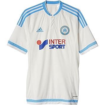 a8c918dcb adidas Men s Replica Olympique Marseille Home Shirt