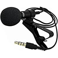 Microfone de lapela com cabo p3 lotus lt61