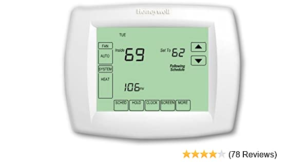 d115b5eaa5f Honeywell TH8321U1006 Visionpro Universal Programmable Thermostat with  Armchair Programming