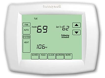 honeywell th8320u1008 7day 3 h 2 c vision pro 8000 touchscreen rh amazon com honeywell th8320u1008 user manual honeywell th8320u1008 manual pdf