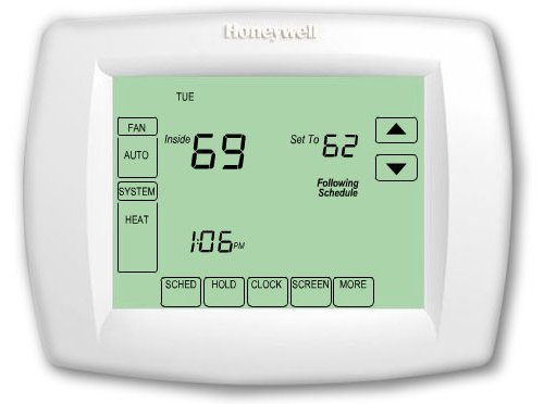 Honeywell TH8110U1003 Vision Pro 8000 Digital Thermostat - Honeywell 8000 Thermostat